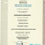 Contoh Sertifikat Kompetensi BNSP : Fasilitator Pelatihan UMKM
