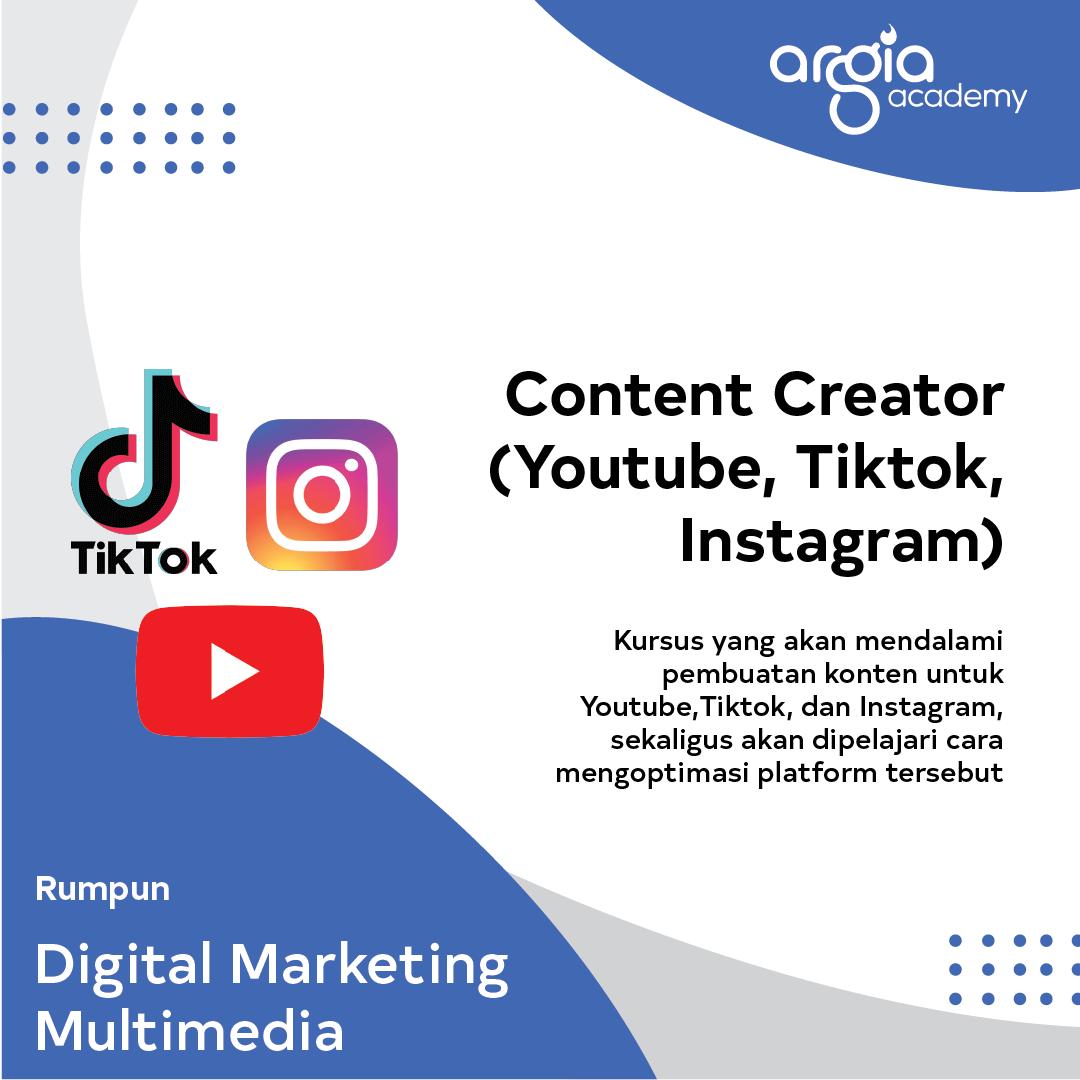 AADC - Content Creator (Youtube, Tiktok, Instagram)