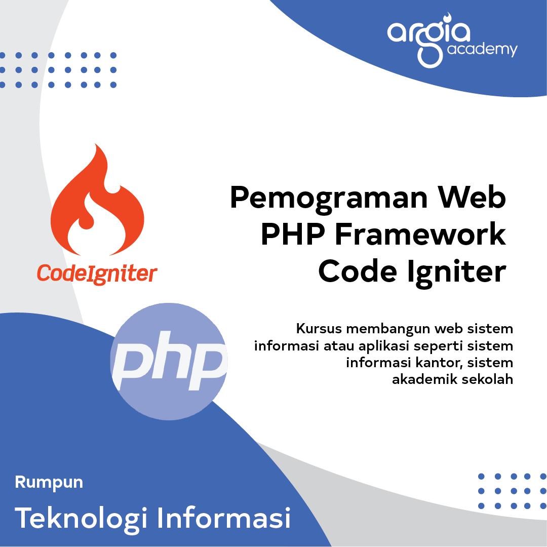 AADC - Pemograman Web PHP Framework Code Igniter